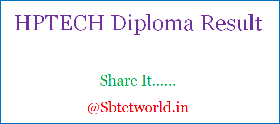 HPTECH Result, HP TECH RESULT 2019, HPTECH Result 2019