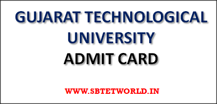 GTU-Admit-Card