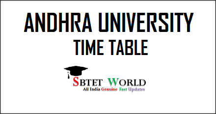 Andhra-University-Time-Table