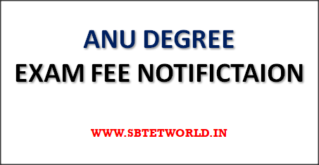 ANU-Degree-Exam-Fee-Notification