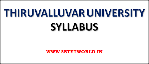 THIRUVALLUVAR-UNIVERSITY-SYLLABUS