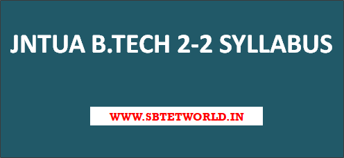 JNTUA-B-tech-2-2-syllabus